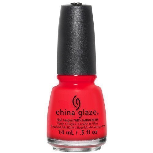 China Glaze Nail Lacquer The Heat Is on