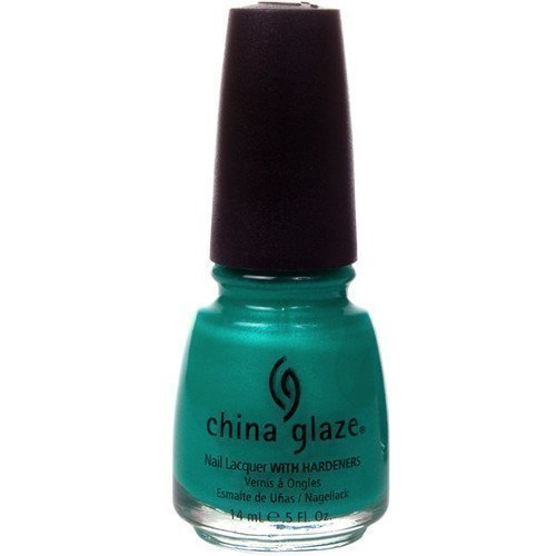 China Glaze Nail Lacquer Turned Up Turquoise