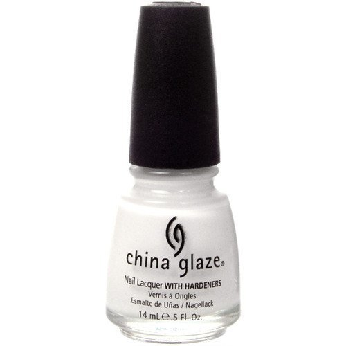 China Glaze Nail Lacquer White on White