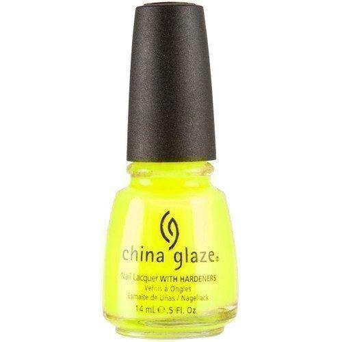 China Glaze Nail Lacquer Yellow Polka Dot Bikini