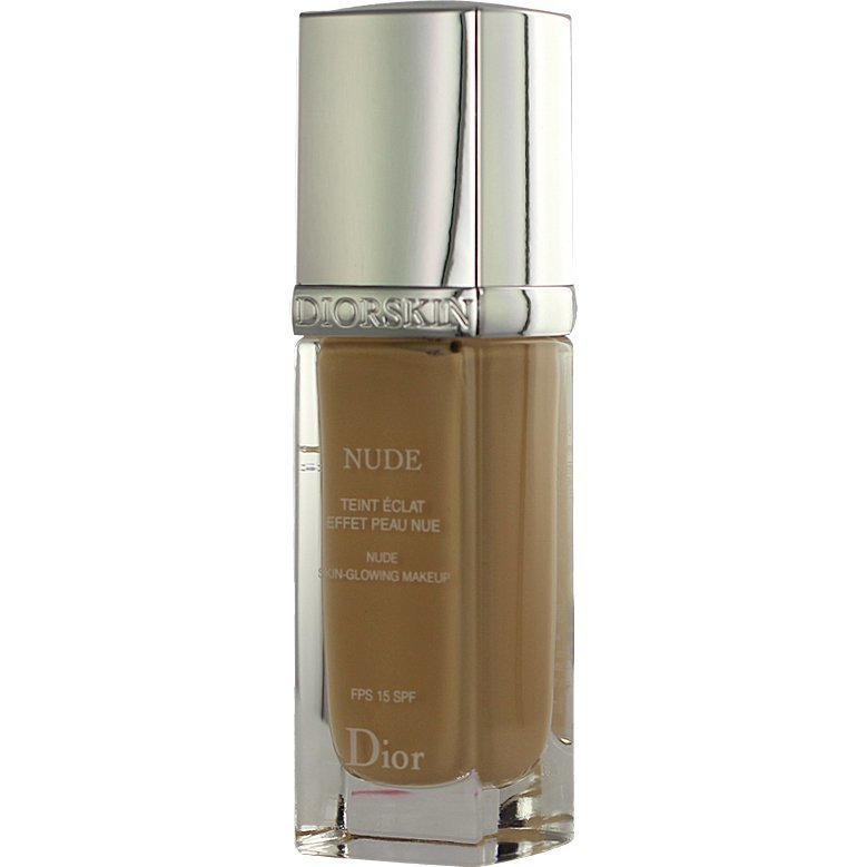 Christian Dior Diorskin Nude Fluid Foundation 023 Peach SPF15 30ml