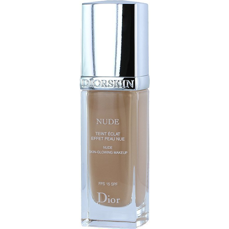 Christian Dior Diorskin Nude Fluid Foundation 030 Medium Beige SPF15 30ml