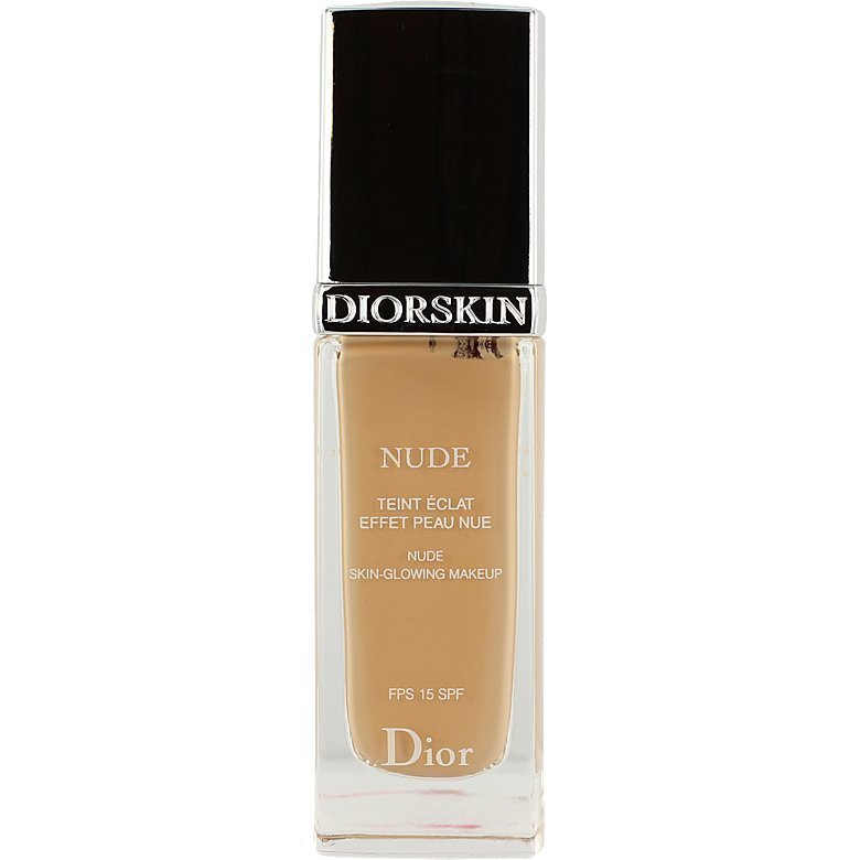 Christian Dior Diorskin Nude Fluid Foundation 032 Rosy Beige SPF15 30ml