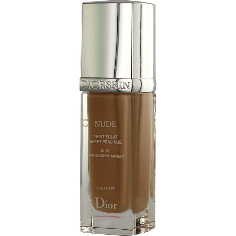 Christian Dior Diorskin Nude Fluid Foundation 040 Honey Beige SPF15 30ml