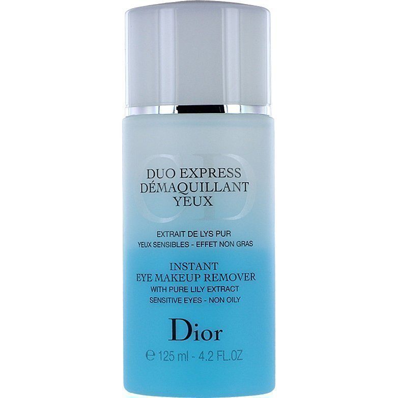 Christian Dior Duo Express Instant Eye Makeup Remover 125ml