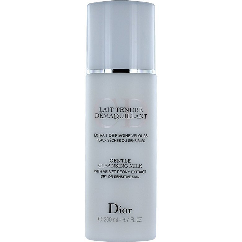 Christian Dior Gentle Cleansing Milk Dry or Sensitive Skin 200ml
