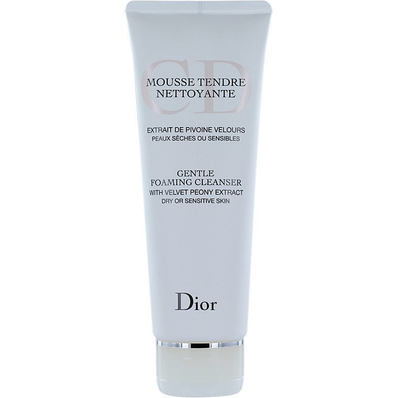 Christian Dior Gentle Foaming Cleanser Dry or Sensitive Skin 125ml