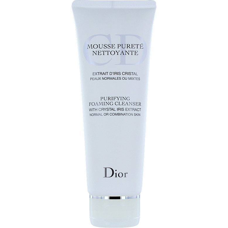 Christian Dior Purifying Foaming Cleanser Normal or Combination Skin 125ml