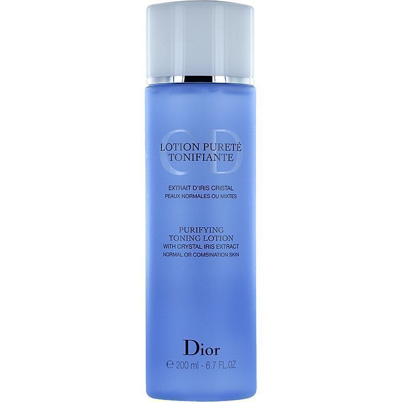 Christian Dior Purifying Toning Lotion Normal or Combination Skin 200ml