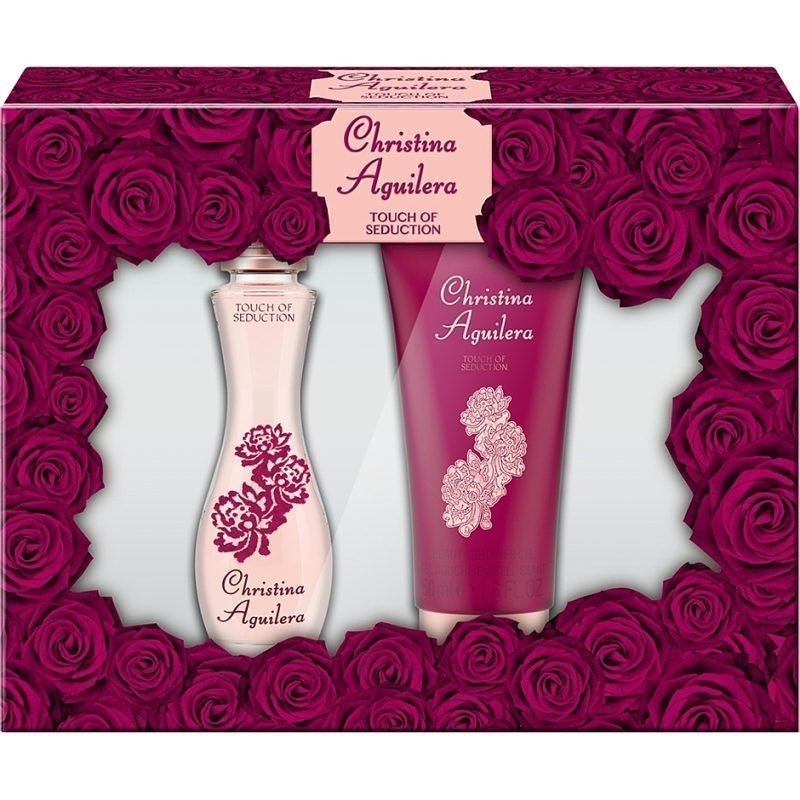 Christina Aguilera Touch Of Seduction EdP 30ml Shower Gel 50ml