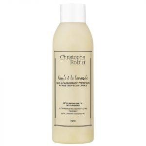 Christophe Robin Moisturising Hair Oil With Lavender 150 Ml