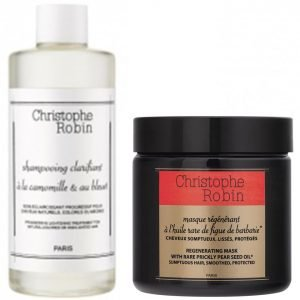 Christophe Robin Regenerating Mask And Clarifying Shampoo Duo