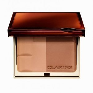 Clarins Bronzing Duo Aurinkopuuteri Medium