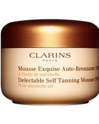 Clarins Delectable Self Tanning Mousse SPF15 125ml