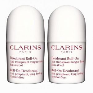 Clarins Duo Deo Roll-On Women 2 X 50 Ml Deodorantti