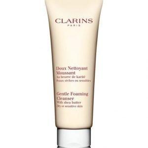 Clarins Foaming Cleanser For Dry Or Sensitive Skin 125 ml Puhdistusvaahto Herkälle Tai Kuivalle Iholle