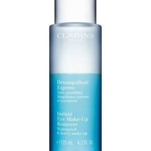 Clarins Instant Eye Make Up Remover Lotion Silmämeikin Poistoaine 125 ml