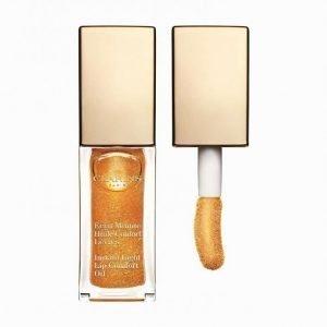 Clarins Instant Light Lip Comfort Oil 7 Ml Huulikiilto Honey Glow