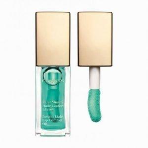 Clarins Instant Light Lip Comfort Oil 7 Ml Huulikiilto Mint