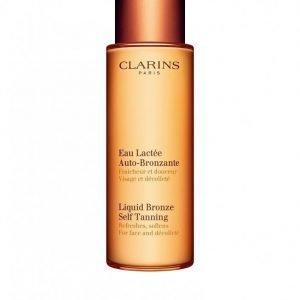 Clarins Liquid Bronze Self Tanning 125 Ml Itseruskettava Golden Glow
