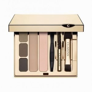 Clarins Perfect Eyes & Brows Palette Kulmaväri Multicolor
