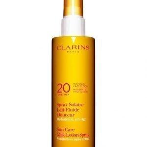 Clarins Sun Care Milk Lotion Spray Uva/Uvb 20 150 ml Aurinkosuojasuihke Vartalolle