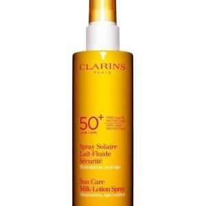Clarins Sun Care Milk Lotion Spray Very High Protection Uva/Uvb 50 Aurinkosuojasuihke 150 ml