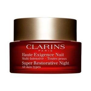 Clarins Super Restorative Night Cream For All Skin Types Yövoide 50 ml