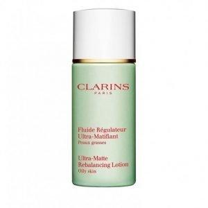 Clarins Ultra-Matte Rebalance Lotion 50 Ml Päivävoide Valkoinen