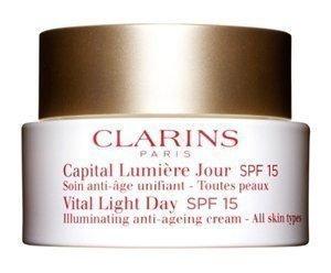 Clarins Vital Light Day Spf 15 Kaikki ihotyypit