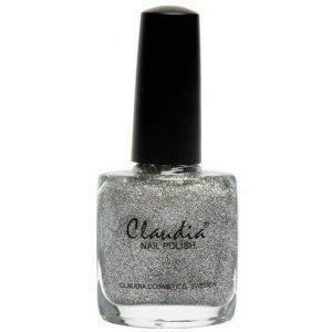 Claudia Nail Polish Sparkling Silver