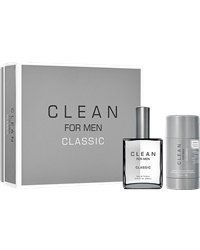 Clean For Men Classic Gift Set: EdT 60ml + Deostick 75g