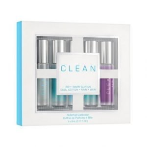 Clean Rollerball Collection Eau De Parfum Tuoksupakkaus 5 X 5 ml