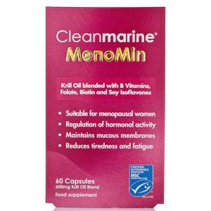 Cleanmarine Krill Oil For Men 60 Gel Capsules 600mg
