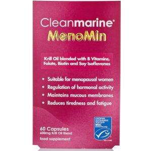 Cleanmarine Menomin For Women Capsules 60 X 600mg Gelcaps
