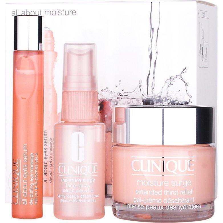 Clinique All About Moisture Moisture Surge Extended 75 ml All About Eyes Serum 15 ml Moisture Surge Spray 30 ml
