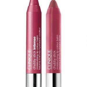 Clinique Chubby Stick Moisturizing Lip Colour Balm Huulikiiltokynä 2 Pack