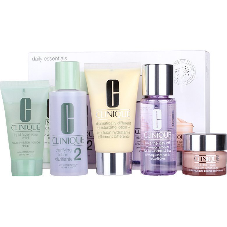 Clinique Daily Essentials Dry/Combination Skin (5 Pieces)