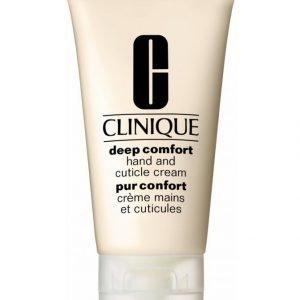 Clinique Deep Comfort Hand And Cuticle Cream Käsivoide 75 ml