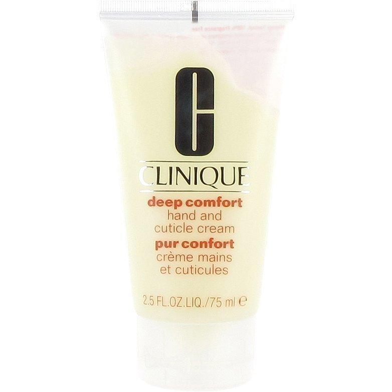 Clinique Deep Comfort Hand & Cuticle Cream 75ml