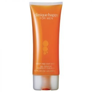 Clinique Happy For Men Body And Hair Wash 200 Ml