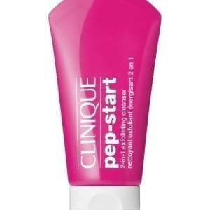 Clinique Pep Start 2 In 1 Exfoliating Cleanser Kuoriva Puhdistusgeeli 125 ml