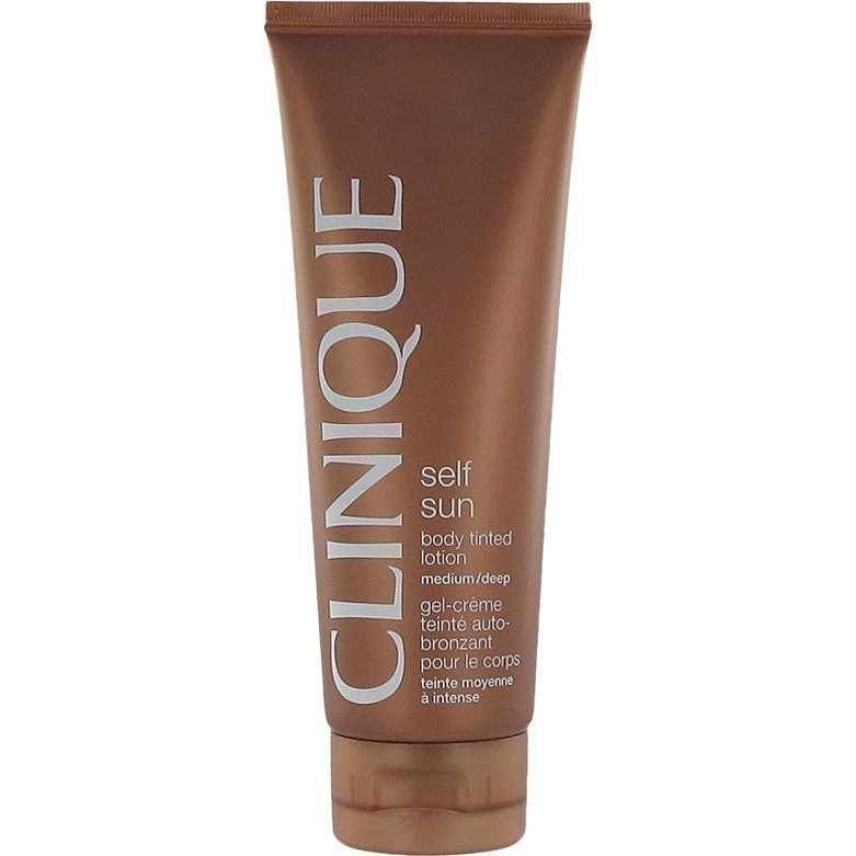 Clinique Self Sun Body Tinted Lotion Medium/Deep 125ml