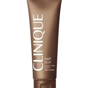 Clinique Self Sun Bodytinted Lotion Itseruskettava Emulsio 125 ml