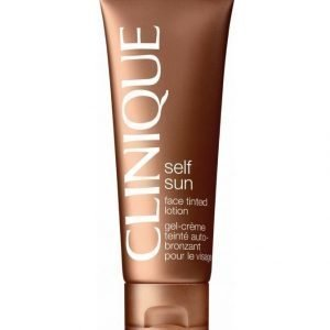 Clinique Self Sun Face Tinted Lotion Itseruskettava Geelivoide 50 ml