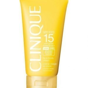 Clinique Sun Broad Spectrum Spf 15 Sunscreen Face/Body Cream Aurinkosuojavoide 150 ml