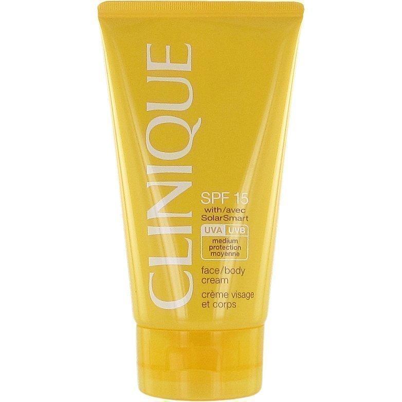 Clinique Sun Face & Body Cream SPF 15 150ml