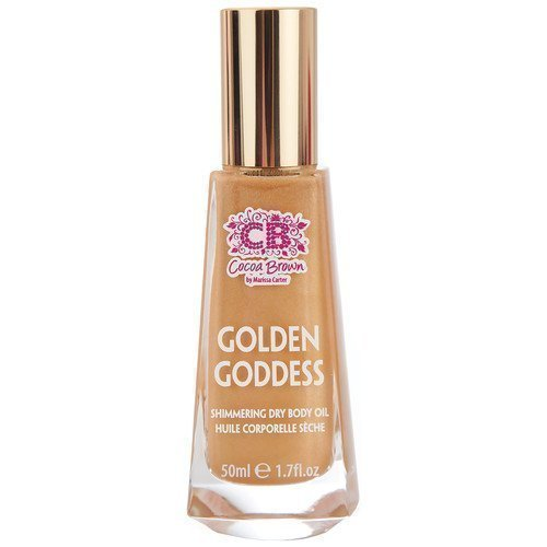 Cocoa Brown Golden Goddess Dry Shimmer Oil