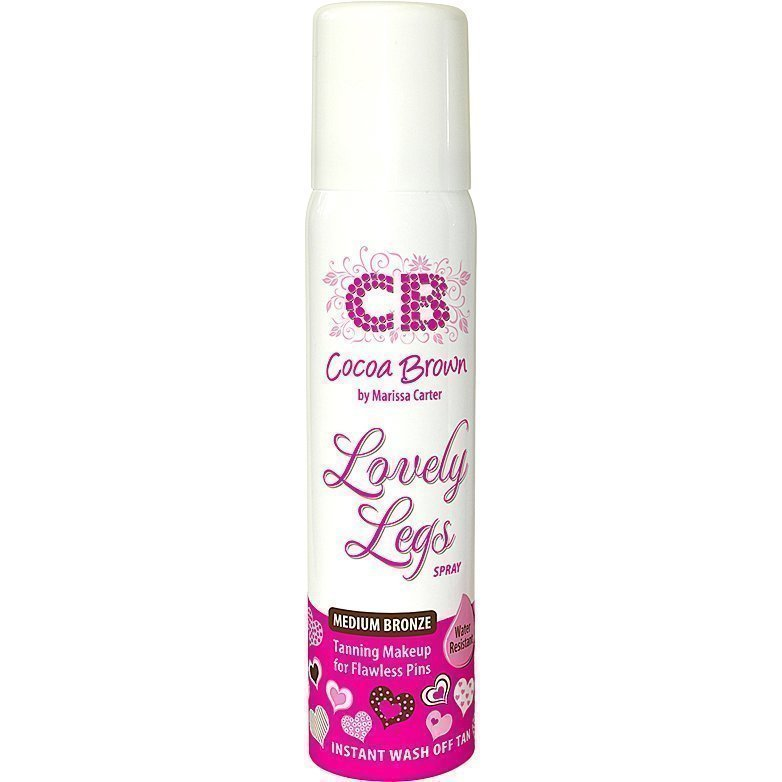 Cocoa Brown Lovely Legs Spray Medium Bronze 75ml