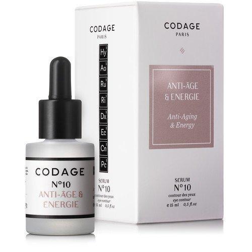 Codage Serum N°10 Anti-Aging & Energy Eye Contour 15 ml